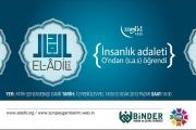 El-ADİL 2, 9 REBİÜLEVVEL 1435 (10 OCAK 2014)